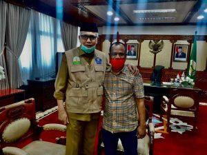 Pertemuan Tiyong dan Nova Iriansyah Redakan Ketegangan Politik