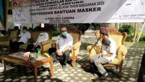 TEC Kembali Gelar Reses Bersama Tokoh Masyarakat Lampung Selatan