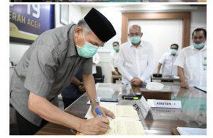 Lanjutkan JKA, Komitment Pemerintah Wujudkan Aceh Sejahtera