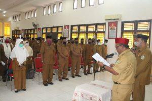 154 Kepala Sekolah di Lingkungan Pemerintah Kabupaten Pidie Dilantik