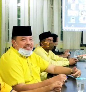 Jabat Wakil Ketua Bidang Bapilu, TRK Siap Menangkan Partai Golkar Aceh