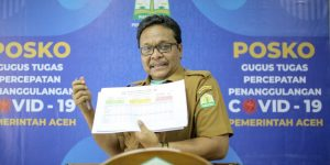 Satu OTG Covid-19 Aceh asal Kota Lhokseumawe Bebas Virus Corona