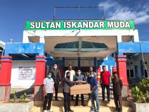 DPR Aceh Tinjau RS SIM Nagan Raya Terkait Perkembangan Covid-19