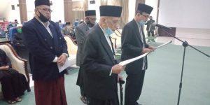 Abu Daud Zamzami Resmi Jabat Ketua MPU Aceh PAW Masa Bakti 2017-2022