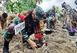 Kadispenad TNI Nefra Firdaus Kunker ke Nagan Raya Aceh, Ini Harapannya