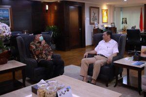 Plt.Gubernur Aceh Laporkan Rencana Investasi UEA  Kepada Menko Kemaritiman