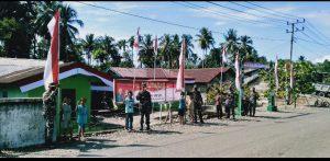 Menjelang Hari Kemerdekaan, Dandim Nagan Raya Imbau Warga Kibarkan Bendera Merah Putih