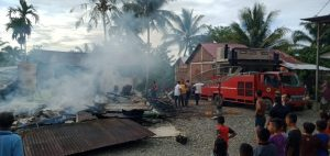 Berikut Kronologi Kebakaran Dua Pintu Rumah di Nagan Raya