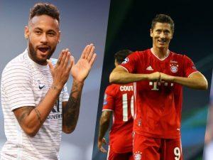 Final UCL, Ajang Pembuktian Kualitas Antara Neymar dan Robert Lewandowski