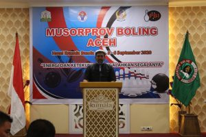 Musorprov I Boling Aceh, Siap Bentuk Atlit dan Bangun Lintasan
