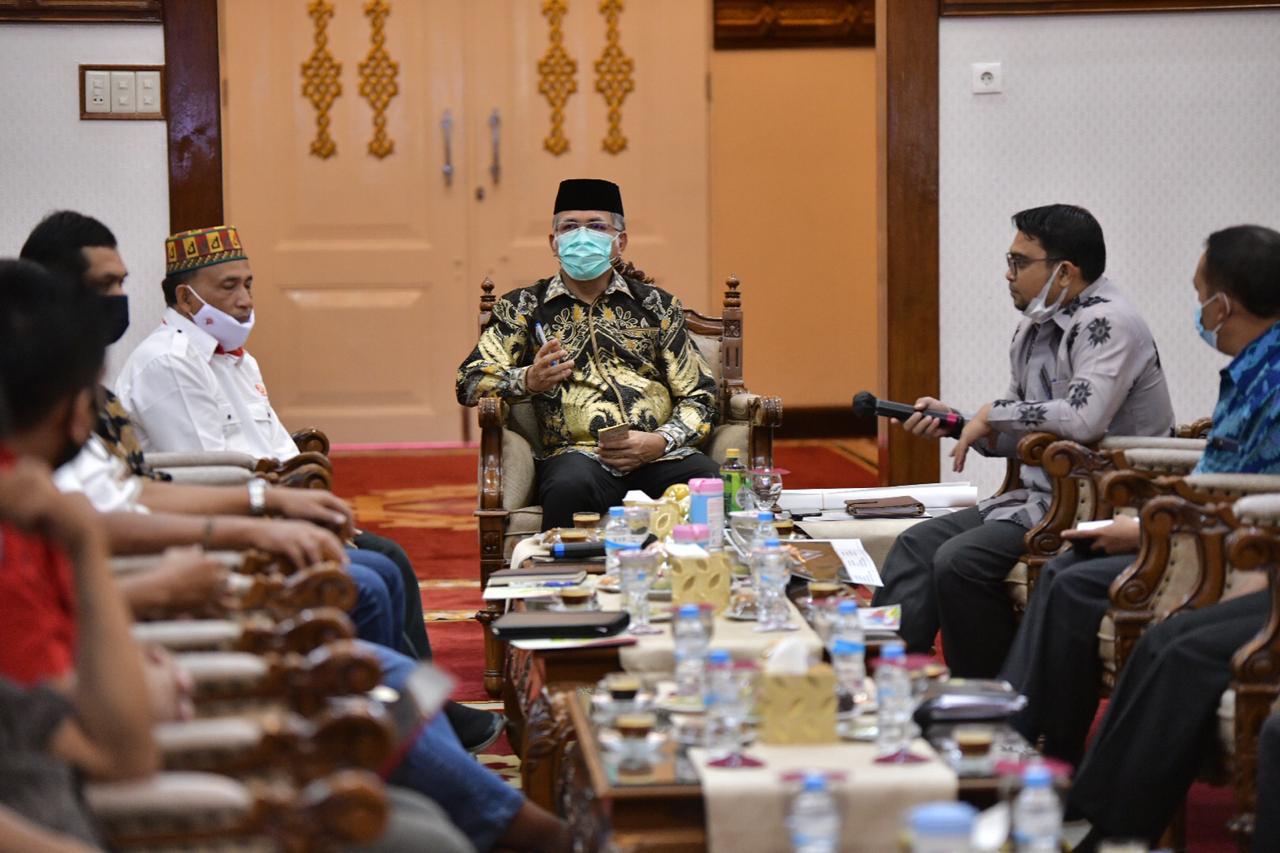Nova Iriansyah Pimpin Rapat Kesiapan PON Aceh-Sumut