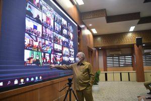 Sekda Intruksikan ASN Pemerintah Aceh Disiplin Terapkan 3M