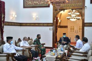 Gubernur  Nova Terima Kunjungan Danlanal Sabang