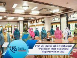 "Dyah Erti Idawati Sabet Penghargaan ""Indonesian Most Inspirational Regional Women"" 2021"