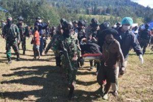 5 KKB Tewas Dalam Kontak Tembak Dengan Satgas Namangkawi di Ilaga Papua