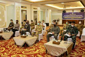 Asisten I Ikut Rakor Keamanan dan Penegakan Hukum Jelang Ramadhan dan Idul Fitri