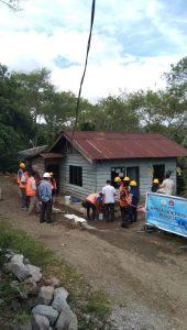 Tunjukan Sikap Religiusitas, Siswa SMK Negeri 1 Bener Meriah Rehab 2 Rumah Warga Dhuafa di Bulan Ramadhan