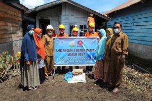 Tumbuhkan Kecerdasan Sosial Religius Siswa, SMKN 1 Benar Meriah Rehab Rumah Duafa