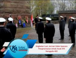 Angkatan Laut Jerman Gelar Upacara Penghormatan Untuk Awak KRI Nanggala-402