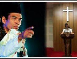 Pandangan UAS Soal Gus Miftah Yang Melakukan Dakwah Dalam Gereja