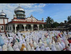Pengikut Tarekat Sattariyah di Nagan Raya Rayakan Idul Fitri Hari Ini