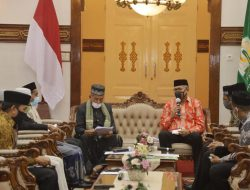 Perkuat Aqidah Ahlussunnah Waljamaah, Gubernur Nova Terima Audiensi Forum Imam Masjid Se Aceh