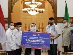 Pemerintah Aceh Kecam Kebiadaban Zionisme Yahudi Terhadap Bangsa Palestina