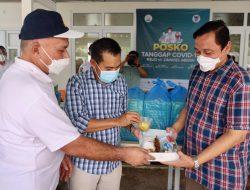 DKP Serahkan Makan Siang Bagi Nakes di RICU Pinere RSUDZA