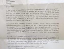 Jang-Ko: Rapat Konsultasi AMDAL Tambang Emas Linge harus Dihentikan!