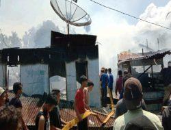 Belasan Rumah di Aceh Tenggara Ludes Terbakar