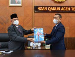 Sekda Sampaikan Rancangan Qanun Aceh Tentang Pertanggungjawaban Pelaksanaan APBA Anggaran 2021