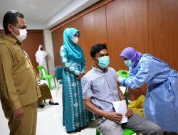 Ketua TP PKK Aceh Apresiasi Antusiasme ASN dan Warga Ikut Vaksinasi