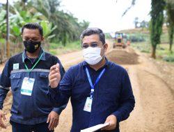 Tiang Listrik PLN Jadi Kendala Kelancaran Pembangunan Jalan Batas  Aceh Timur-Kota Karang Baru Aceh Tamiang