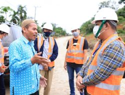 Masyarakat Lokop Serba Jadi Serahkan Tanah Untuk Pembangunan Jalan Peureulak-Lokop