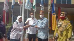 Kacabdin Aceh Tenggara Hadiri Acara Pembagian Rapor