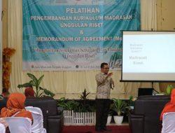 Implementasi Madrasah Unggulan Riset; Guru MAN 4 Aceh Besar Dibekali Pelatihan