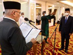 Sekda Aceh Lantik Azhari Jadi Kepala BPKA