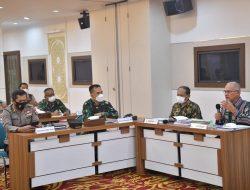 Satgas Covid-19 Aceh Bahas Pelaksanaan Ingub PPKM Mikro Level 4 Kota Banda Aceh