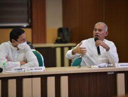 Sekda Evaluasi Komitmen Perubahan Pelayanan Dokter Ahli RSUDZA