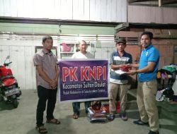 PK KNPI Sultan Daulat Bantu Seragam Sekolah Untuk Korban Kebakaran