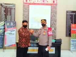 Silaturahmi Dengan Polres Aceh Barat, Ketua SIGAP Apresiasi Kinerja Penegakan Hukum