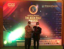 DPW PPNI Aceh Terima Penghargaan The Aceh Post Award 2021