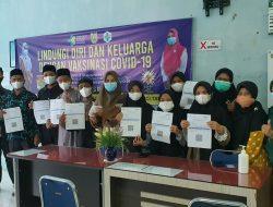 Semua Anggota Kafilah Aceh Jalani Vaksin Jelang STQHN