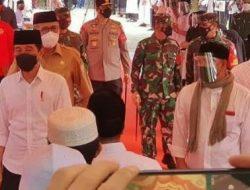 Presiden Tinjau Langsung Vaksinasi Santri Di Beberapa Pesantren Di Aceh, Jokowi Ingin Lindungi Santri Dari Covid – 19