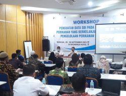 Dinas DKP Aceh Gelar Workshop Pengelolaan Data SDI Sektor Kelautan dan Perikanan