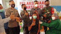 Vaksinasi Tahap Pertama Gampong Lam Asan – Baitussalam Berjalan Lancar