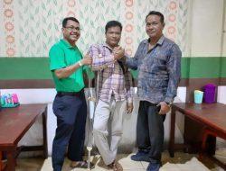 PPDI Nagan Raya Lepas Atlet Disabilitas Ikut TC Dalam Event Peparnas Ke XVI di Papua